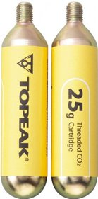 Topeak 25 gram Threaded CO2 Cartridge