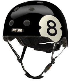 Melon 8 Ball bike helmet