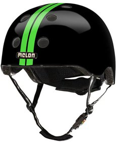 Melon Urban Active Straight Urban Active Helmet - Green/Black, Size 58-63