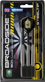 Winmau Broadside 80% tungsten steeltipdarts