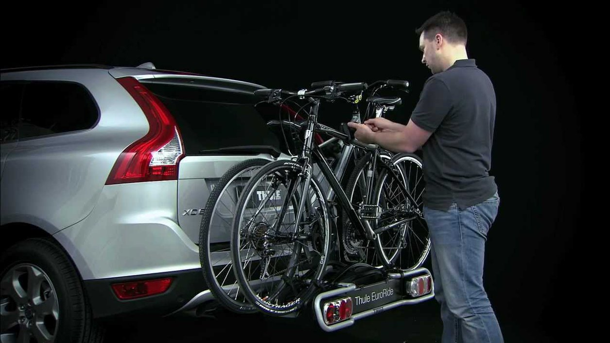 Thule 2-Bike Euroride Towbar Mounted Cycle for 941 Carrier on  checkfrank co uk | Frank