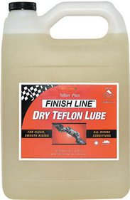 Finish Line Teflon Plus Dry Bike Chain Lube / Lubricant - 240ml 8oz Bottle