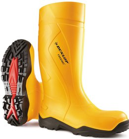 Stivali da lavoro Dunlop Purofort Plus Yellow S5