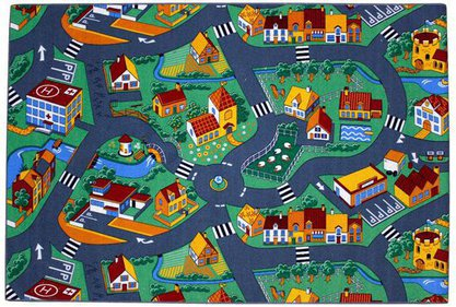 Benton Village playmat