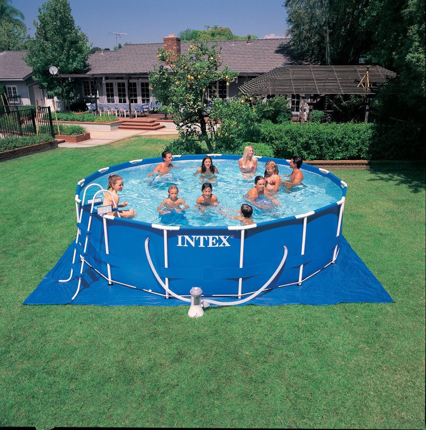 Intex Frame Pool Set 457x91 opzetzwembad