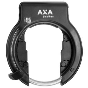 ds Axa ring lock Solid Plus black