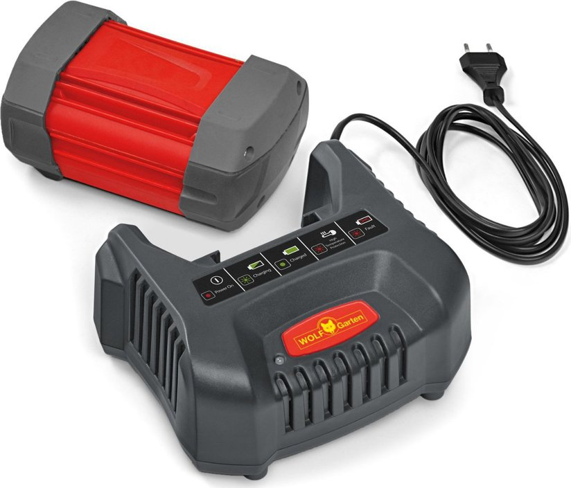 Wolf-Garten Li-Ion Power ABC acculader