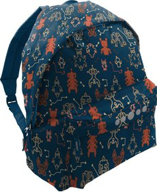 Highlander Robot Print backpack