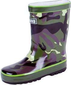Chuva Army children's boots