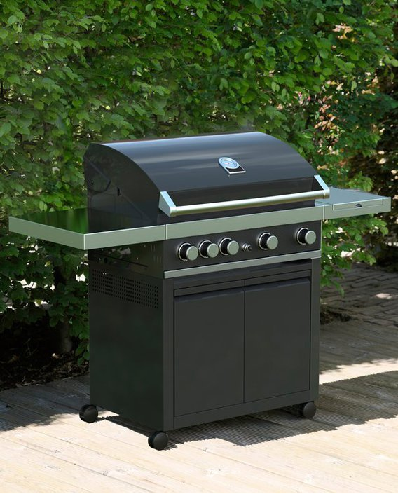 Grandhall Maxim GT4 gasbarbecue