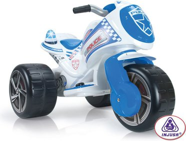 Injusa Police Big Trike mit Batterie