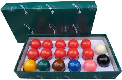Aramith Snooker ballenset
