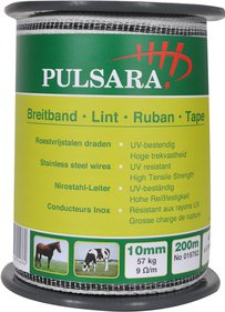 Pulsara 10 mm wit lint