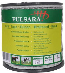 Pulsara 20mm vitt band