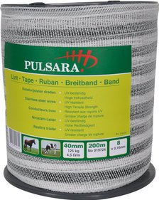 Pulsara 40 mm wit lint