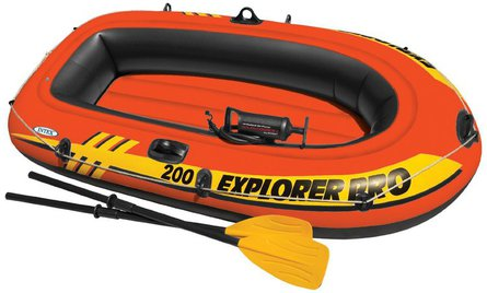 Intex Explorer Pro 200 opblaasboot-set