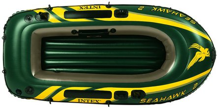 Intex Seahawk 2 inflatable boat set