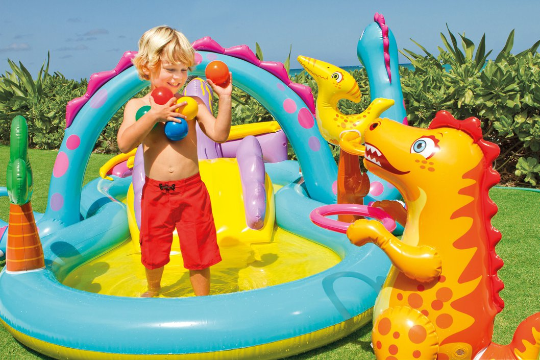 Intex Dinoland playcenter