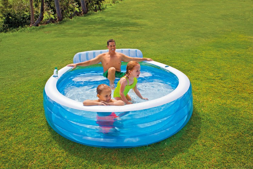 Intex Swim Center Family Lounge Piscina inflable de la piscina