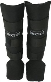 Bruce Lee cotton shin guards