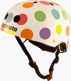 Kiddimoto Pastel Dotty kids helmet