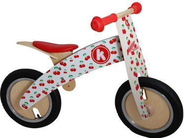 Kiddimoto Kurve Cherry balance bike