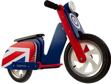 Kiddimoto Scooter Brit Pop loopfiets