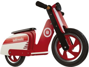 Kiddimoto Scooter Red Stripe loopfiets