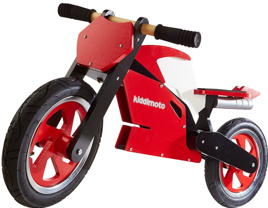 Kiddimoto Superbike Red loopfiets