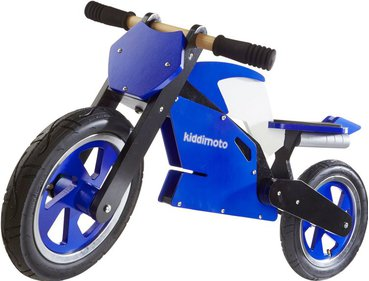 Kiddimoto Superbike Blue loopfiets
