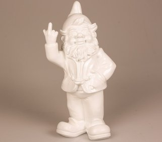 Stoobz Design F*ck You  garden gnome