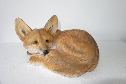 Farmwood Animals fox garden statue