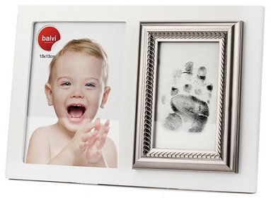 Balvi Baby Print photo frame