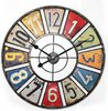 Balance Time License Plate wall clock
