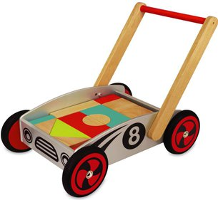 I'm Toy Blocks push cart
