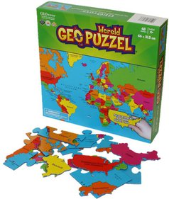 GeoPuzzle World puzzle