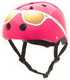 CoConuts Pink Glasses child's helmet