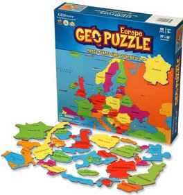 GeoPuzzle Europa puzzel