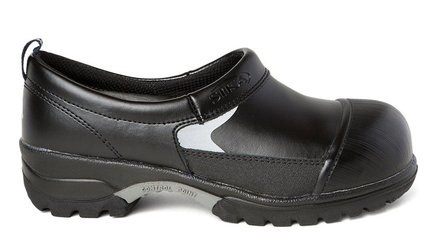 SIKA Super Clogs closed Alukappe fibre and sole, Black, SRC S3) Black Size: 9