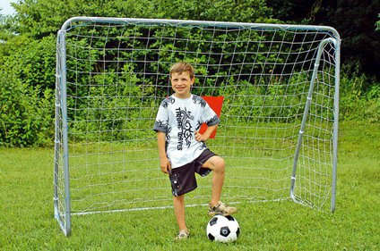 Bandito football goal with screen