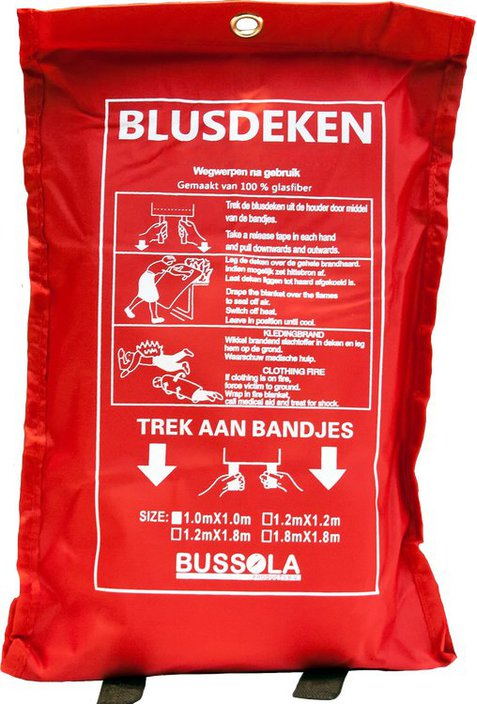 Bussola Blusdeken in softbag
