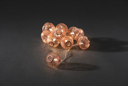 Konstsmide LED Decorative Cord Copper Bolletjes