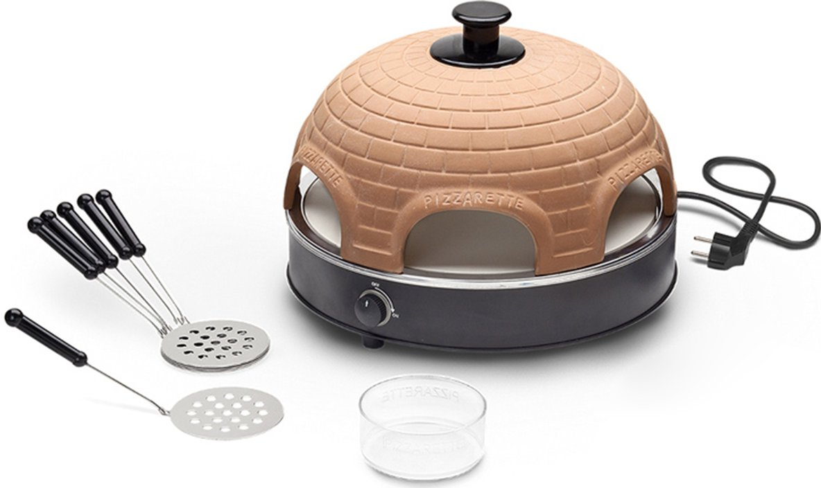Pizzarette 6 Persoons.Emerio 6 Persoons Pizzarette Op Barbecue Expert Be Frank
