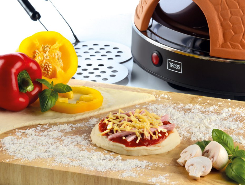 Trebs PizzaGusto 8-persoons pizza-oven