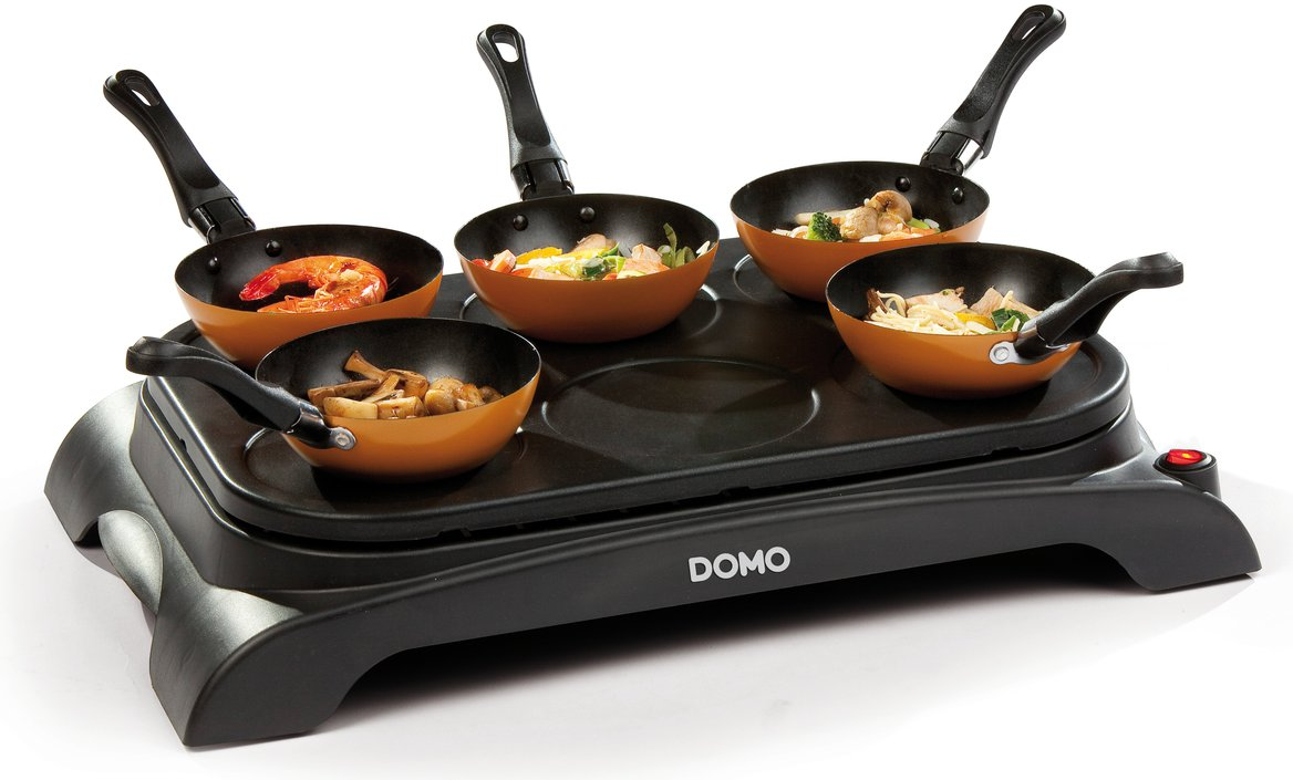 Domo DO8706W mini-wokset