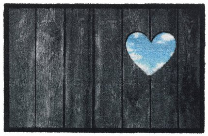 Hamat Prestige Wood Panel Heart droogloopmat