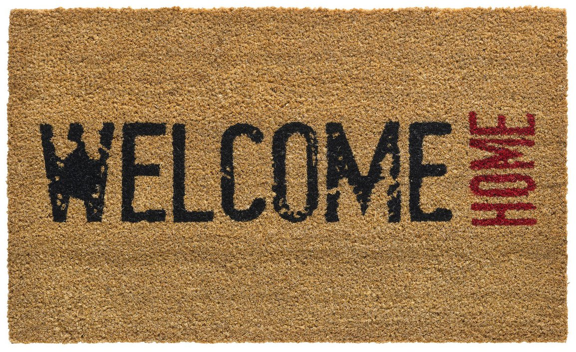 Hamat Ruco Print Welcome Home kokosmat