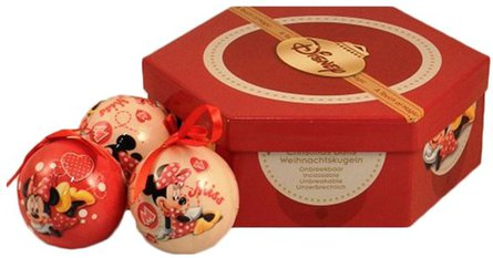Disney Minnie 7 kerstballen