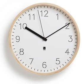 Umbra Rimwood wall clock