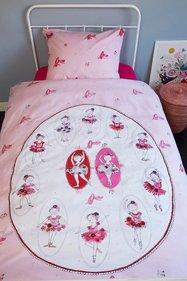 Beddinghouse Kids Ballet children's duvet cover